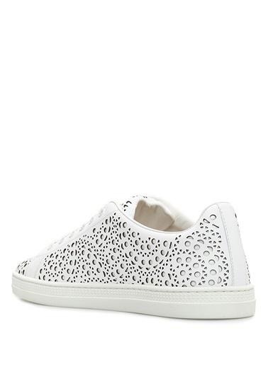 Alaia Ayakkabı Beyaz